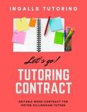 Tutoring Contract 2019-2020
