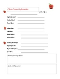 Tutoring Documents Bundle: Stay Organized and Professional!!