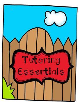 Tutoring Essentials Bundle