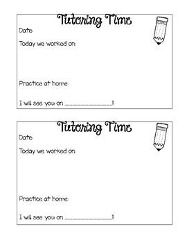 Tutoring Forms