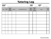 Tutoring Log {EDITABLE}