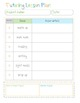Tutoring Planner Kit