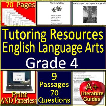 Tutoring Resources for 4th Grade Test Prep Language Arts ...