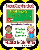 Tutoring: Student Study Handbook for Short Vowel Sounds