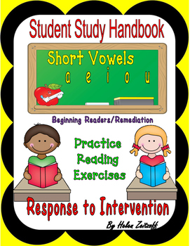 Tutoring: Student Study Handbook for Short Vowel Sounds