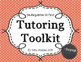 Tutoring Toolkit {Kindergarten to First}