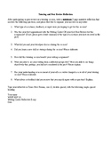 Tutoring and Peer Review Reflective Essay