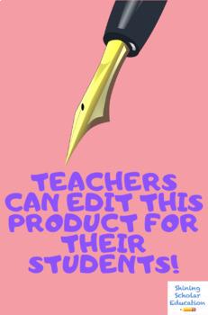 Tutoring Sign-In Sheet for Teachers