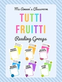 Tutti Fruitti Reading Group Posters and Picture Labels