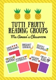 Tutti Fruity Reading Group Posters and Labels