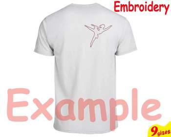 Tutu Ballet Embroidery Machine digital 4x4 5x7 hoop Stiches ballerina dance 95b