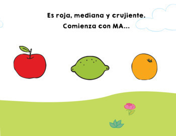 Tutuca come una fruta {A Fruit Spanish Story}