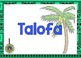 Tuvalu Greetings Introductions Farewells Classroom Display Posters