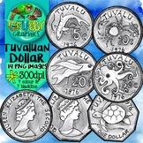 Tuvaluan Dollar (Currency Clip Art)