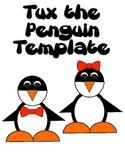 Tux the Penguin Template