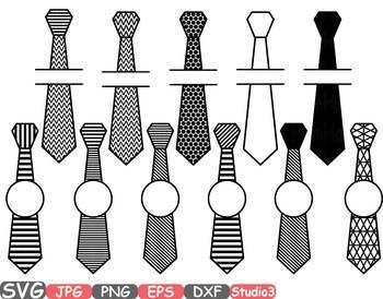 Tuxedo Tie Chevron Frames SVG clipart circle split Ribbon frame outline 678s