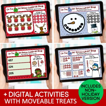 Christmas Activities & Daily Countdown Gifts for 5 Days Before Christmas Break