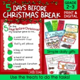 Christmas Activities & Countdown Gifts Grades 2-3 | Print