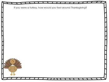 'Twas The Night Before Thanksgiving - Rhyming Word, Measurement, Writing
