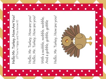 'Twas The Night Before Thanksgiving - Rhyming Word, Measurement, Writing