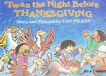 Twas The Night Before Thanksgiving Smartboard Language Unit