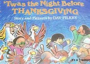 Twas The Night Before Thanksgiving Smartboard Language Unit