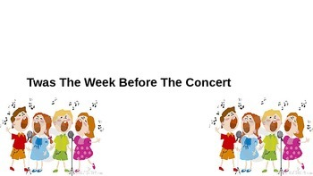 Twas The Night Before The Concert