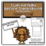 Twas the NIght Before Thanksgiving by Dav Pilkey activities