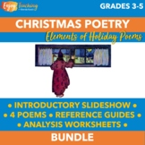 Twas the Night Before Christmas Poetry Activities Bundle