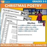 Twas the Night Before Christmas Poetry Activities Bundle