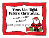 'Twas the Night Before Christmas ABC Order