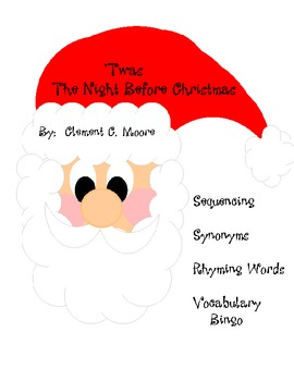 Night Before Christmas Activity Worksheets Worksheets for all ...