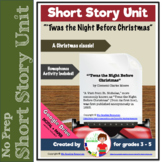 Choral Reading: 'Twas the Night Before Christmas + Student Activities