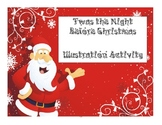 Twas the Night Before Christmas Illustrating Activity