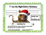 T'was the Night Before Christmas Labeling Fun