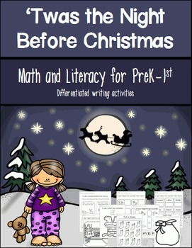 Twas the Night Before Christmas Math and Literacy