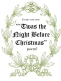 'Twas the Night Before Christmas Poem Rhyming Activity