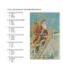 Twas the Night Before Christmas Rhyming Words