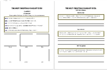 Christmas Story Responses! 60 Pages of Printable Activities!