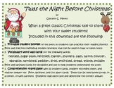 """Twas the Night Before Christmas fun pack!"