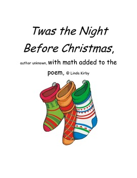 Twas the Night Before Christmas with a math twist