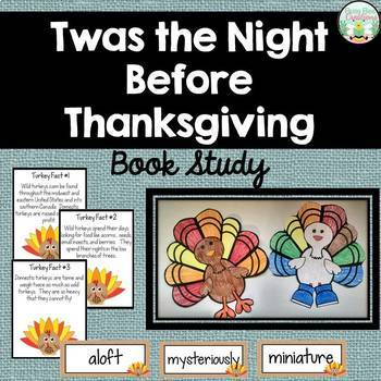 Twas the Night Before Thanksgiving Book Study