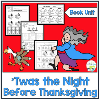 Twas the Night Before Thanksgiving Book Unit