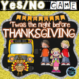 Twas the Night Before Thanksgiving - Character Traits Game