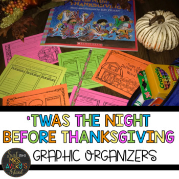 Twas the Night Before Thanksgiving Literacy Activities
