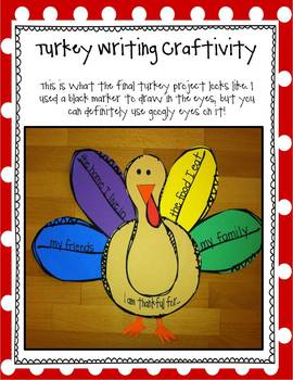 'Twas the Night Before Thanksgiving: Literature Study & Turkey Activities