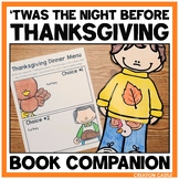 Thanksgiving Activities for Twas the Night Before Thanksgiving