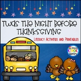 Twas the Night Before Thanksgiving Book Companion Pack
