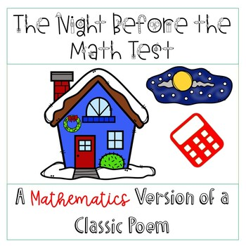Twas the Night Before the Math Test Poem
