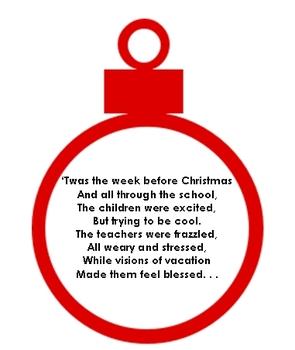 twas the week before christmas clipart by neesienoodle designs tpt rh teacherspayteachers com Winter Clip Art for Teachers Cute Clip Art for Teachers